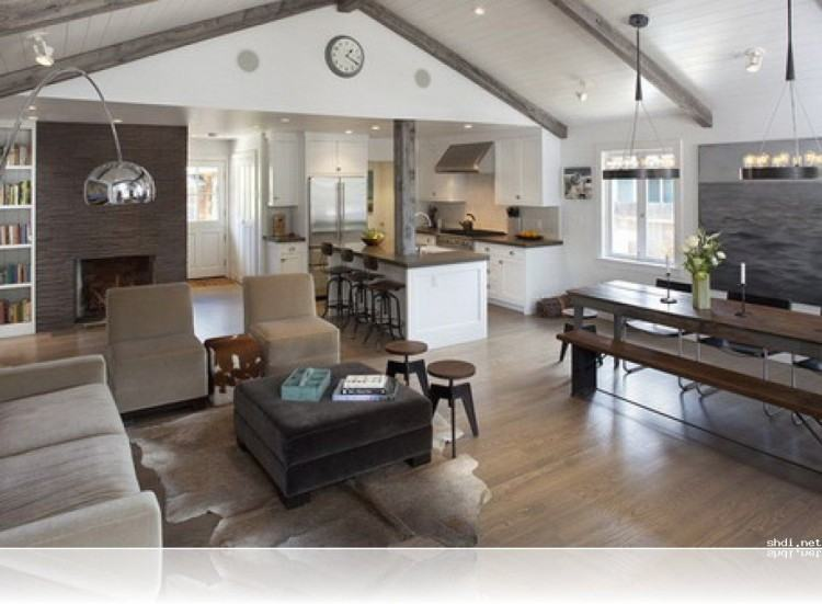 Small Open Kitchen And Living Room Open Floor Kitchen Living Room Plans  Open Floor Plan Kitchen Living Room 9 Kitchen Dining Room Small Open Plan  Kitchen