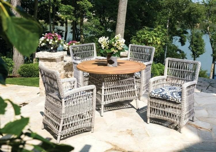 Modern Outdoor Ideas Medium size Patio Living Rattan Furniture Martha  Stewart White Wicker Sets