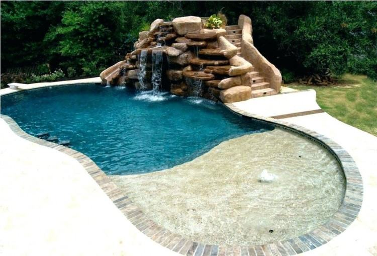 backyards with pools small