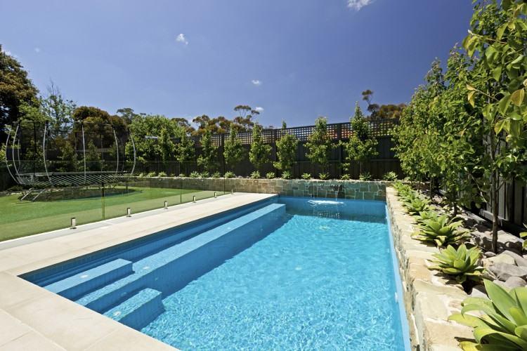 Pool im Garten oder im Haus bauen – 110 Bilder von Schwimmbecken |  Pooldesign