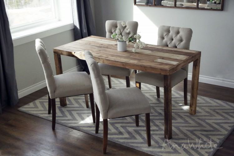 For the last several months my husband and I had been lacking a dining room  table