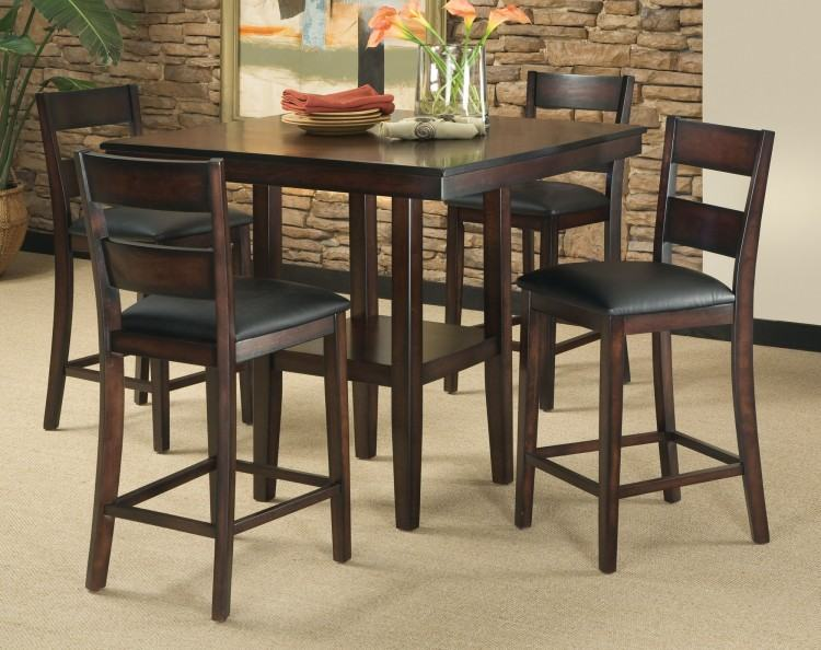 Helms 5 Piece Round Dining Set With Side Chairs (Qty: 1) has been  successfully added to your Cart
