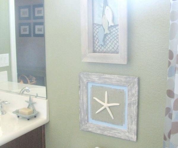 light green bathroom