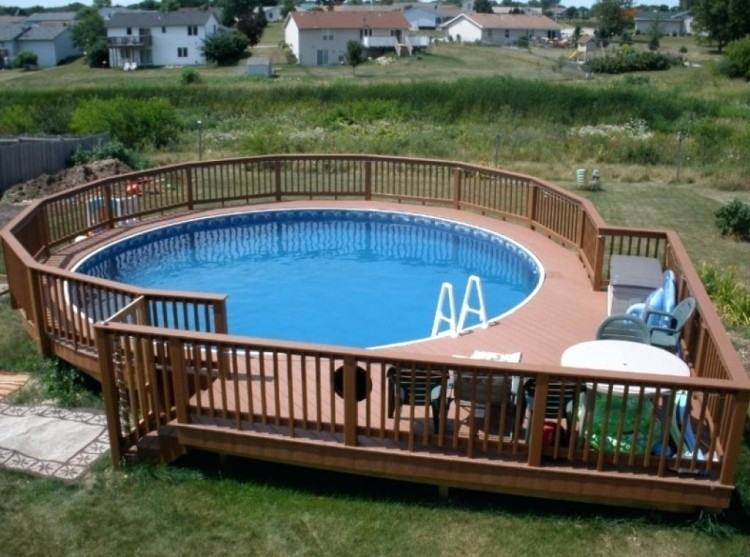 small above ground pool deck designs small deck around above ground pool  ideas building a an