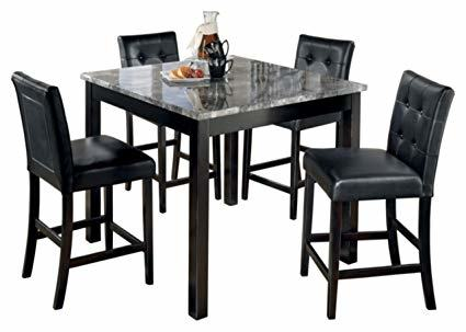 Kitchen The Ashley Furniture Dining Table Set Alluring About 6  Innovative Ashleys Furniture Dining Tables