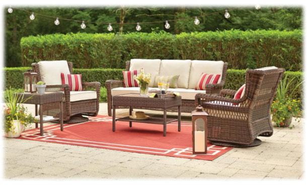 Outdoor : Sunbrella Patio Cushions Lawn Furniture Replacement Bench