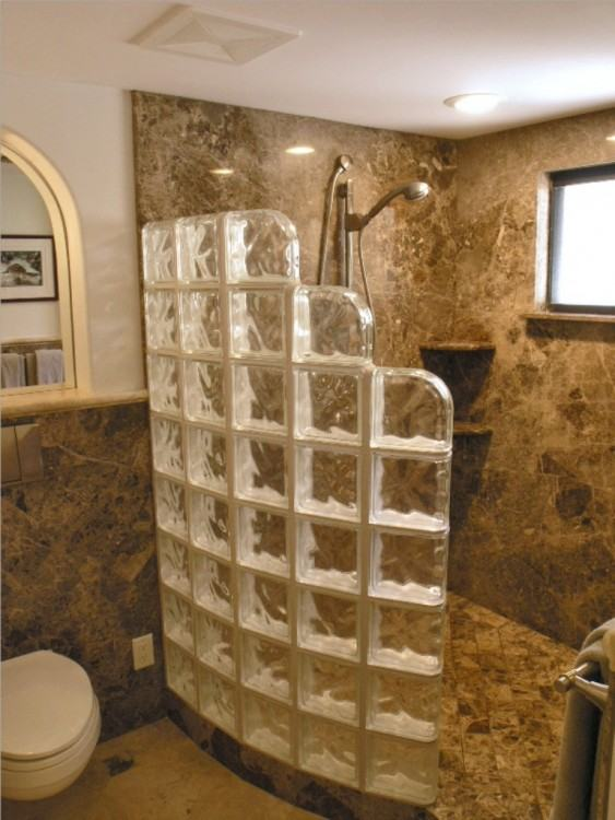 Cool 30+ Glass Block Bathroom Ideas Design Decoration Of Best 20+