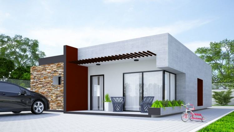 6 Coolest Modern Two Bedroom House Plan