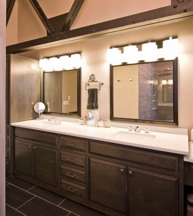 over bathroom sink lighting bathroom mirror ideas