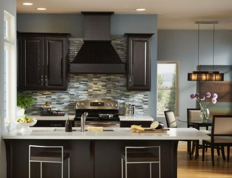 Cabinet color is Cheating Heart by Benjamin Moore