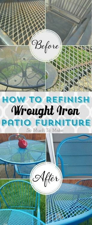 refurbish outdoor  furniture