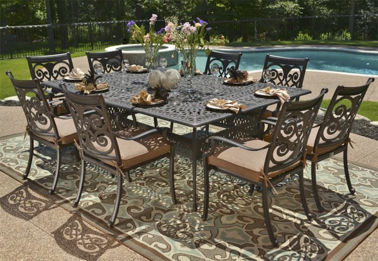 Painting Cast Aluminum Patio Furniture Ideas Parts Cleaning Outboard Motor  Techniques