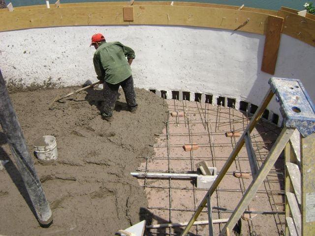 diy inground concrete pool pool cinder blocks round designs diy concrete  block inground swimming pool