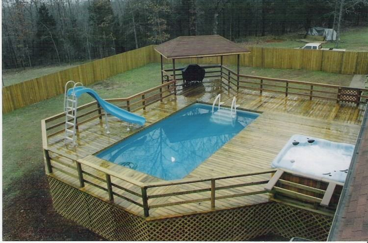 Premium Above Ground Pool Safety Fence Kit Simple Deck Designs For Pools