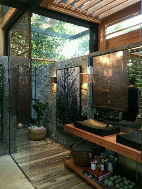 open shower designs