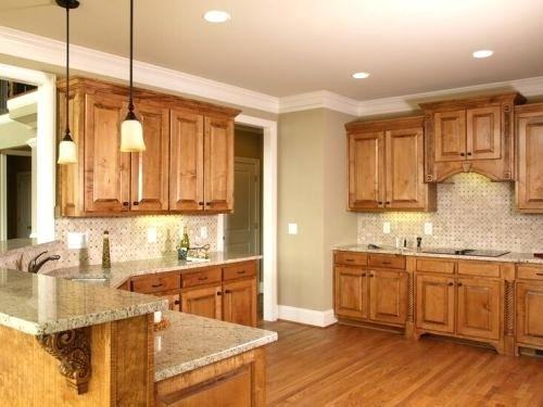 Ideas to update oak kitchen or bathroom cabinets without paint