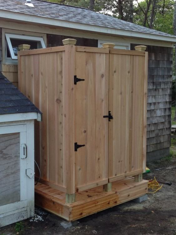 stylish outdoor showers for small urban spaces too outside shower  enclosures door near me