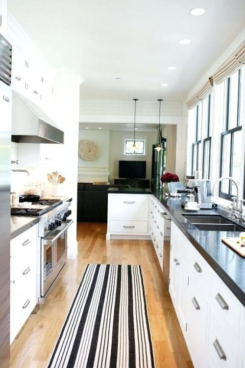 small galley  kitchen ideas space