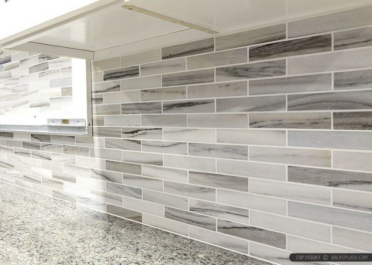 gray subway tile kitchen small subway slate ideas
