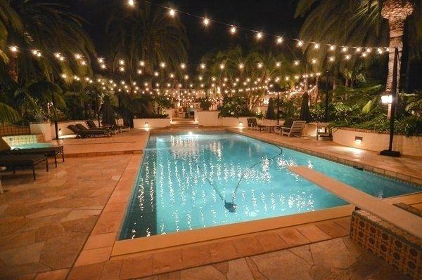 indoor swimming pool lighting