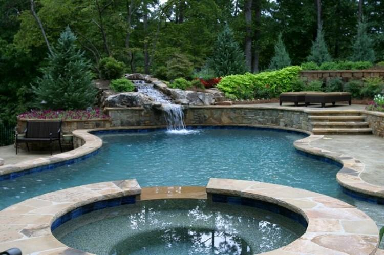 Modern Swimming Pool Spa Design Pictures Gallery Landscaping Network