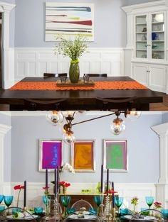 High low project dining room