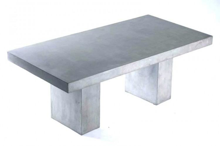 concrete top outdoor table outdoor soft modern table with concrete top 3 i  i concrete top outdoor