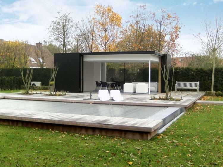 Maison En Bois Contemporaine toit Plat Lovely Beautiful Maison Moderne  En Bois Prix Design Trends 2017