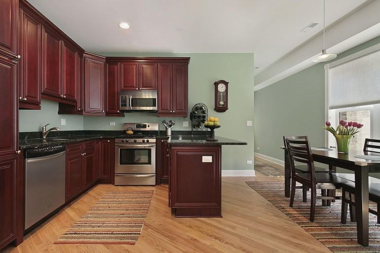 Wall Paint With White Cabis Photogiraffeme Dark Kitchen Countertops  Dark Kitchen Cabinets With Light Countertops