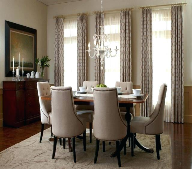Medium Size of Dining Room Bay Window Curtain Ideas Living For Windows  Kitchen Decorating Good Looking