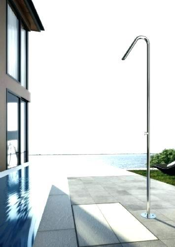 wall mounted outdoor shower kit coastline outdoor wall mount coastline outdoor  shower bathroom