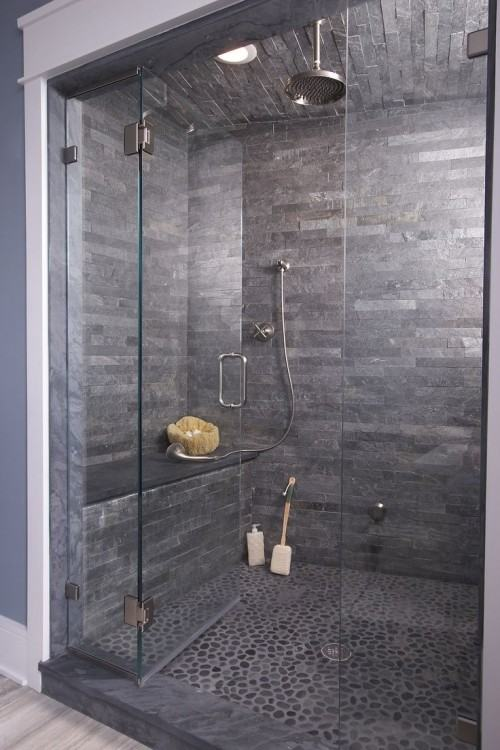 bathroom tile ideas grey