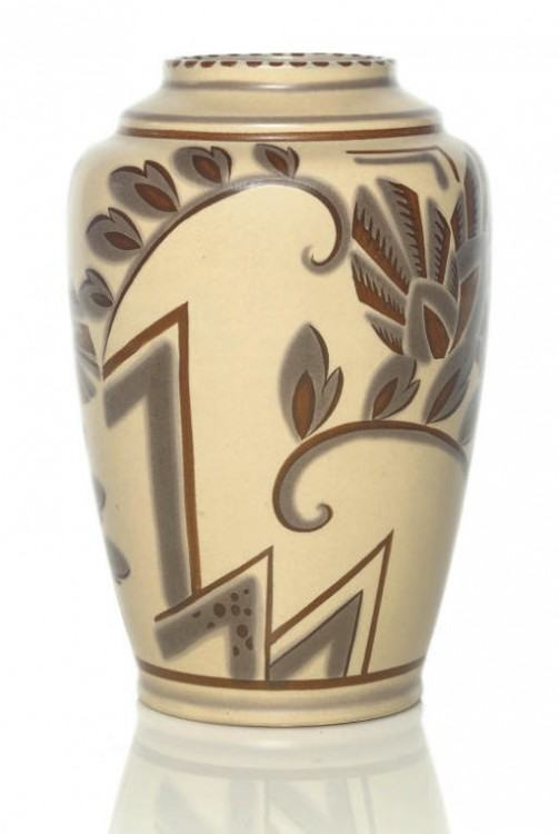 Poole Pottery : A traditional Poole pottery small spill Vase number 503  with Truda Carter design