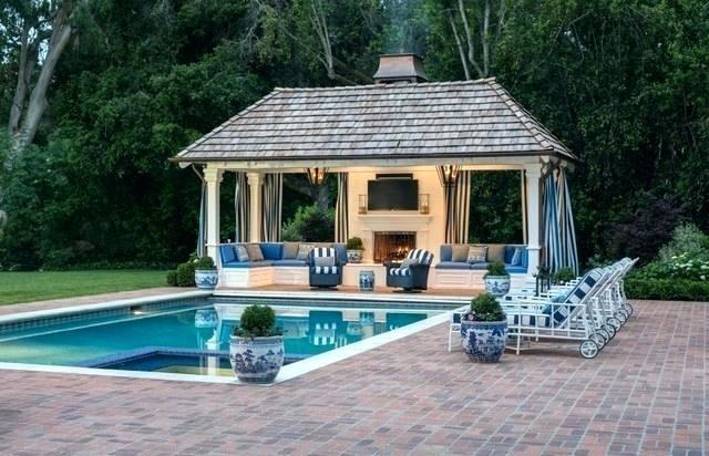 Full Size of Decorating Best Pool House Designs Pool And House Diy Pool  House Kits House