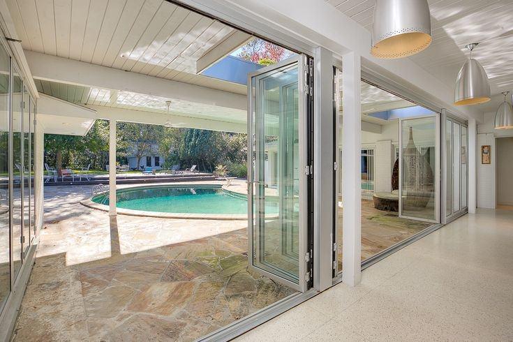 Beautiful custom gunite swimming pool and spa with Old St