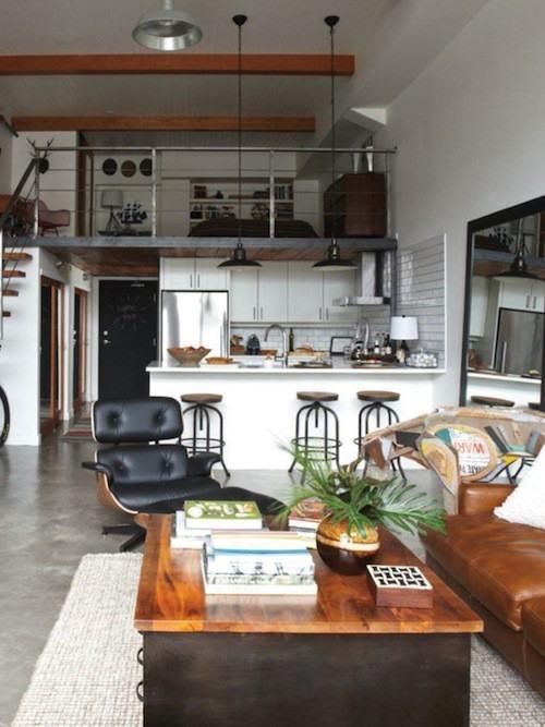 urban industrial decor home