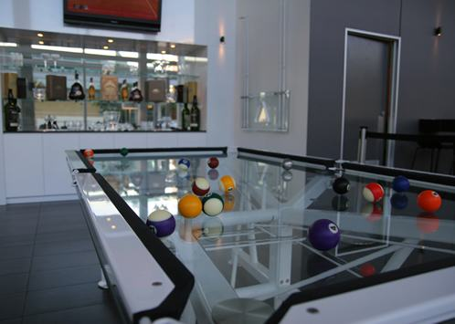 contemporary pool table / commercial; contemporary pool table / commercial