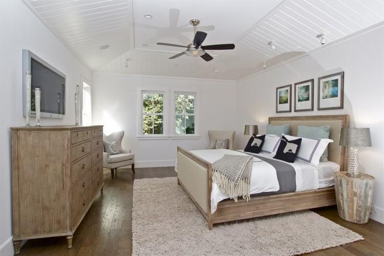 gray white bedroom