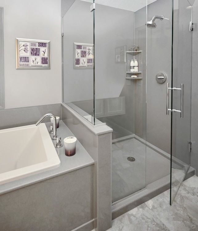 The Big Bathroom Remodeling Design Decision: Tub vs