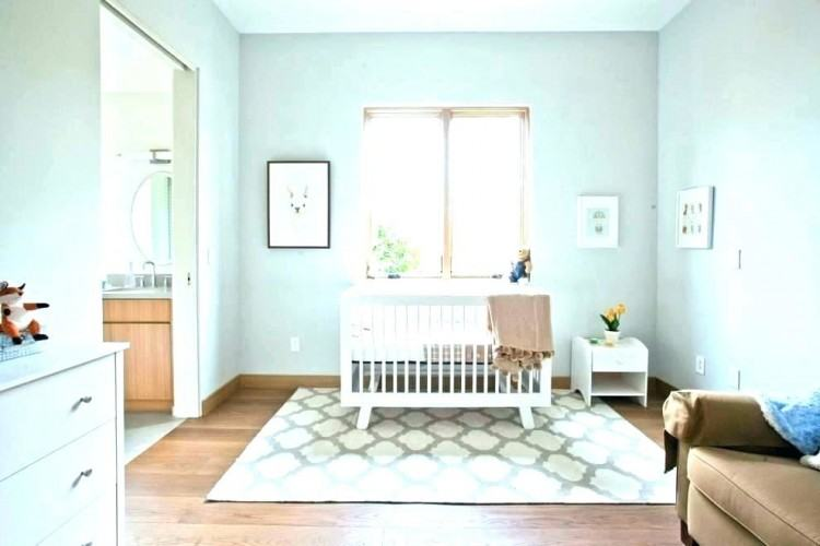 The pattern, size,  and color is perfect for this neutral master bedroom space