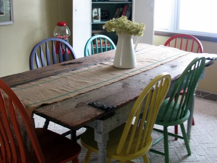 painted kitchen table ideas grey tables and white could fun