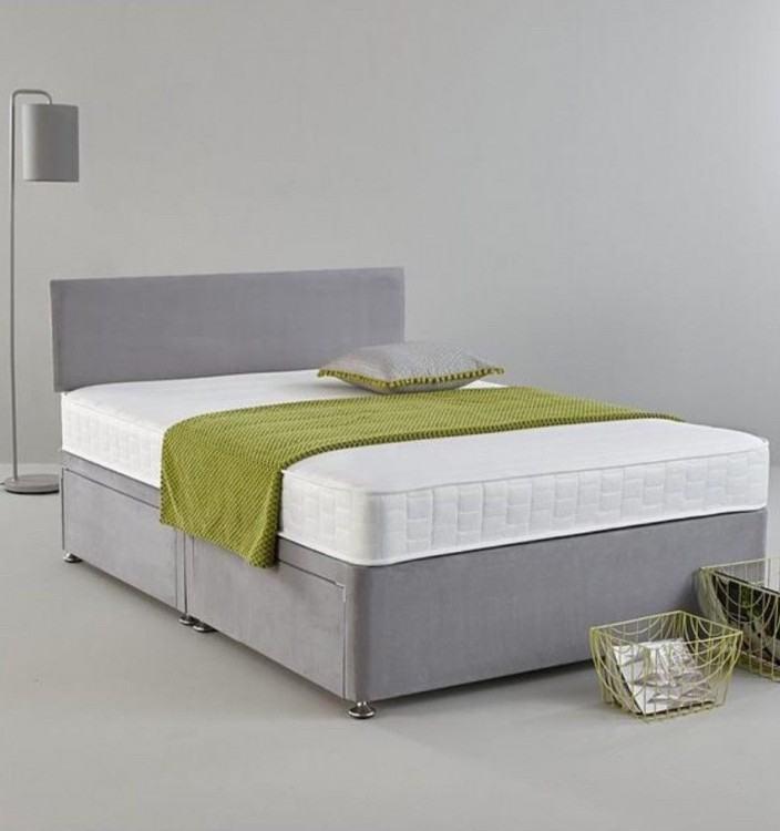 suede bed