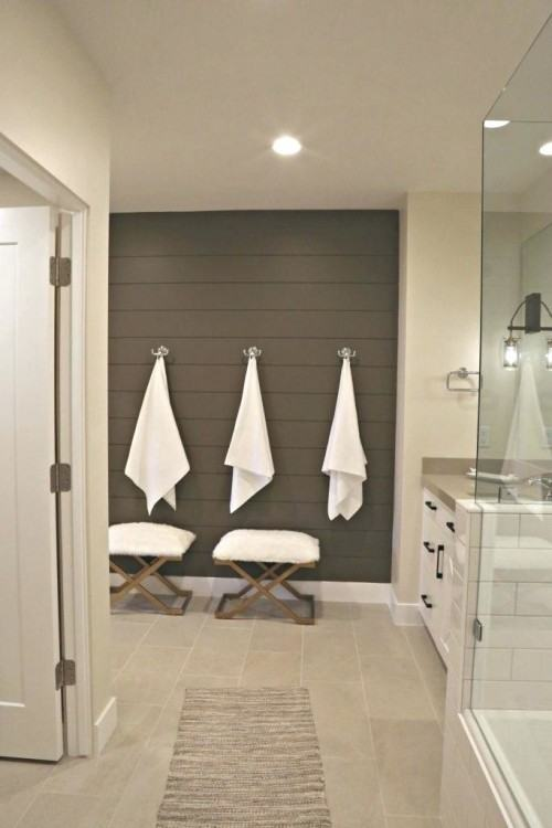 Accent Wall Bathroom Accent Wall Bathroom Whitewash Reclaimed Wood White  Paneling Accent Wall Bathroom Ideas Paneling White And Accent Wall Bathroom  Blue