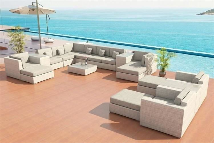 patio sectional middle chair