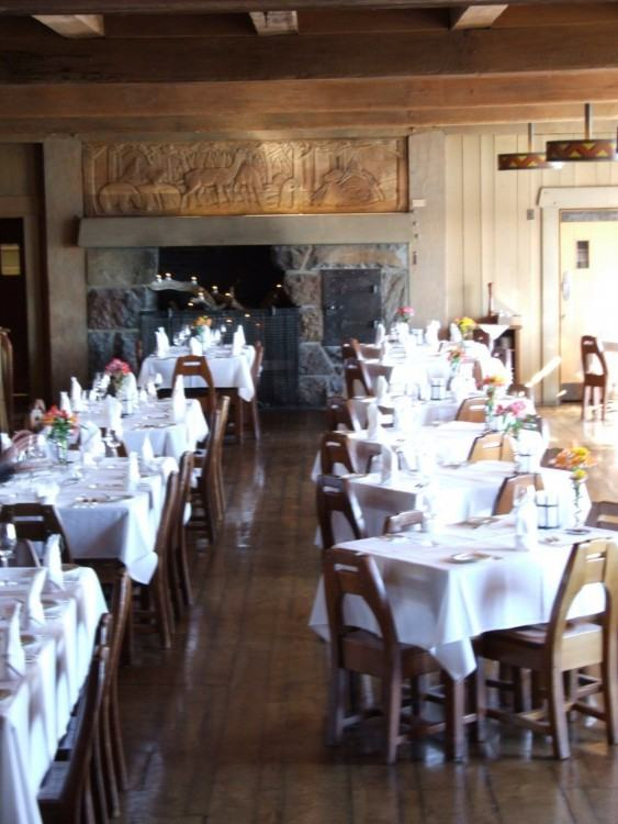 Photo taken at The Cascade Dining Room by David L