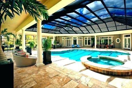 indoor pool house designs