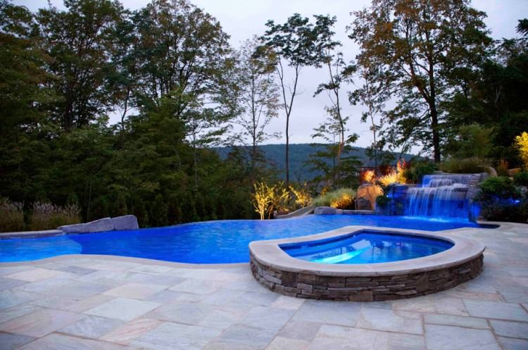 custom swimming pool garden structure and landscaping design ideas  franklin lakes new jersey