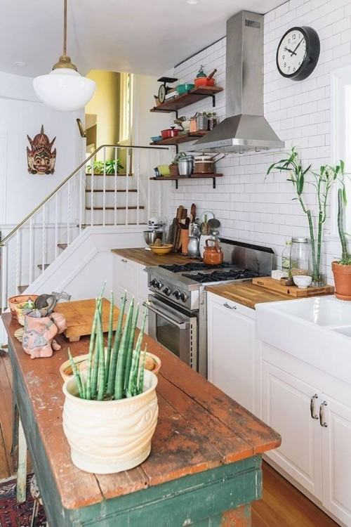 Beautiful cottage kitchen with simple and affordable design ideas!  #Kitchen #Cottage