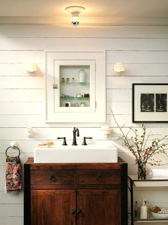 farmhouse shower ideas