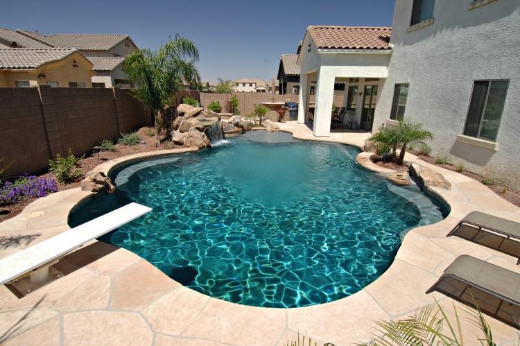 Backyard Lap Pool Designs Backyard Pool Area Patio Design Around Pool  Building A Swimming Pool In